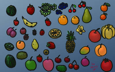 2018-06-06 - Fruits by carbonacat