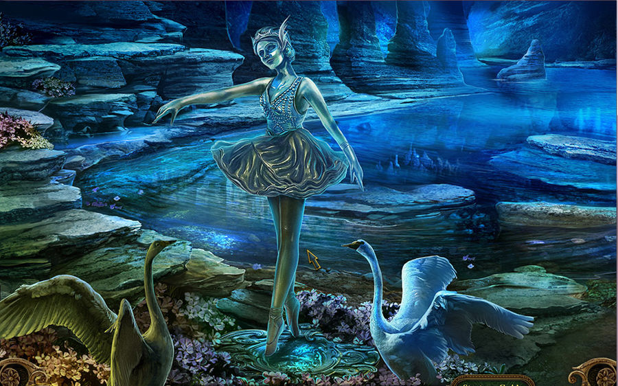 Statue of Swan Princess by Diamond1984