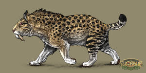 Smilodon Lion (Evosaur) by OtakuSauridae