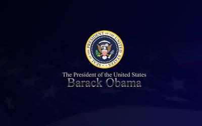 President Obama 2 by michaelmknight