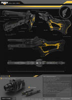 Rail Gun Xeno Concept Page by pauldavemalla