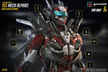 155 MECH ALPHAS SET 02 FRONT COVER by pauldavemalla