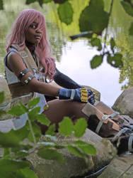 SAN Lightning cosplay by Mercredy