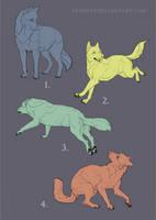 CLOSED Canine YCH batch by Eredhys