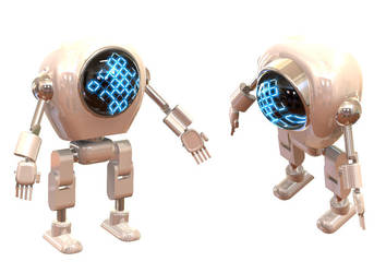 C.L.Y.D.E the Friendly Robot by Angelman8