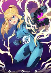 Super Smash Bros. - Zero Suit Samus by Seikoru
