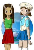 Kit and Tika by kitsunesakurano