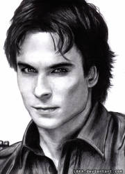 Damon Salvatore by Kissa-TR