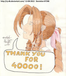 The Aerith's thanks by CJ-DB
