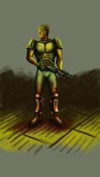 Doomguy by S-Kerd
