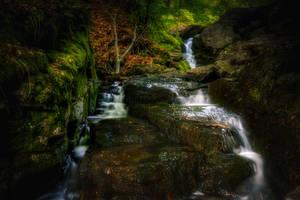 Waterfall II by MoonKey19