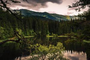 Mountain Lake by MoonKey19