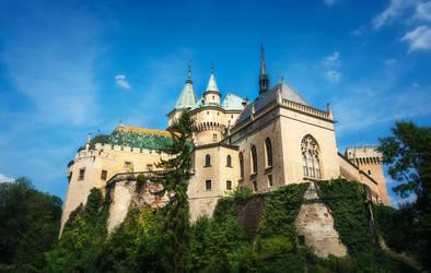 Bojnice Castle, Slovakia by MoonKey19