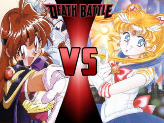 Lina Inverse vs Sailor Moon by ToxicMouse77