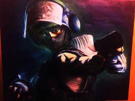 IQ Rainbow Six Siege by MoonpigsART