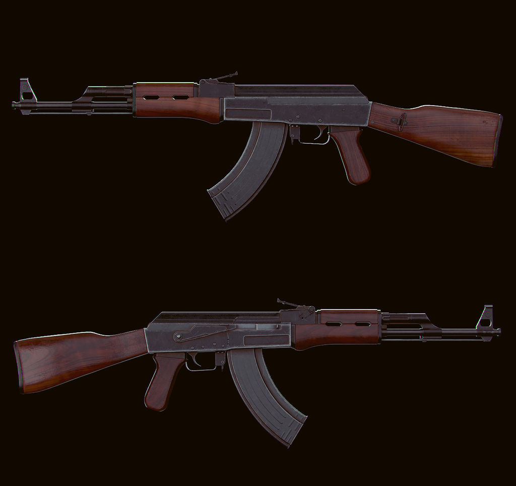 AK-47 Model by velocitti