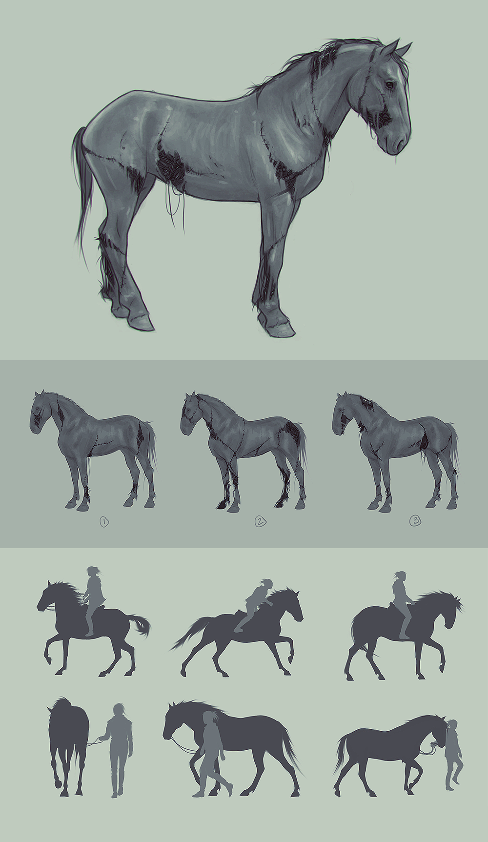 Into Dust Character Concepts - Bear by velocitti