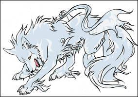 Okami Wolf by ToX-90