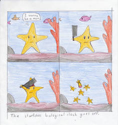 Starfish Parenthood by thereisagoose