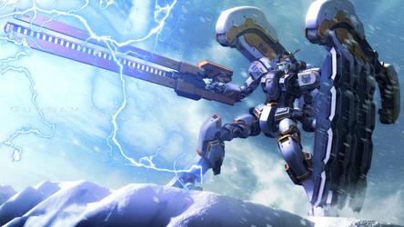 Atlas Gundam by Rwero