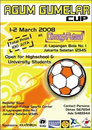 Flyer Kompetisi Futsal By Babipink On Deviantart