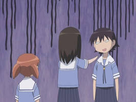Snapshot from Azumanga Daioh by KidnappedByFairies