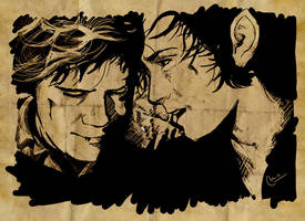 It's your Sam, Mr. Frodo by marurosich