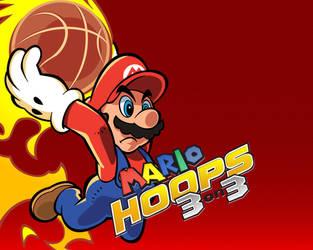 Mario Hoops Vector by rotaris