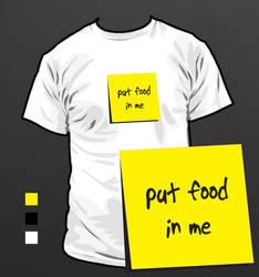 Put Food In Me by rotaris