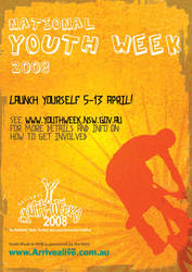National Youth Week 08 Poster by rotaris