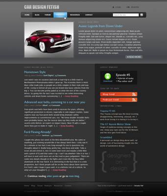 Car Design Fetish by rotaris