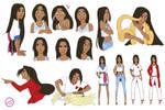 Character sheet (sort of)- Devan by Sleevia