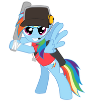 Rainbow Scout Vector by TheAljavis