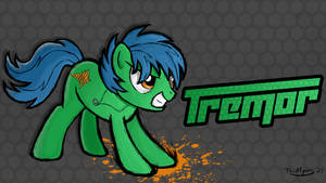 [COMMISSION #3] Fighting is Magic - Tremor by TheAljavis