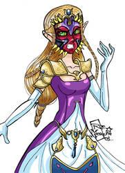 P -Princess Zelda Majoras Mask by roemesquita