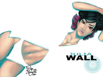 Julia Wall - Wallpaper by roemesquita