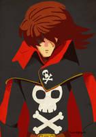Captain Harlock by roemesquita
