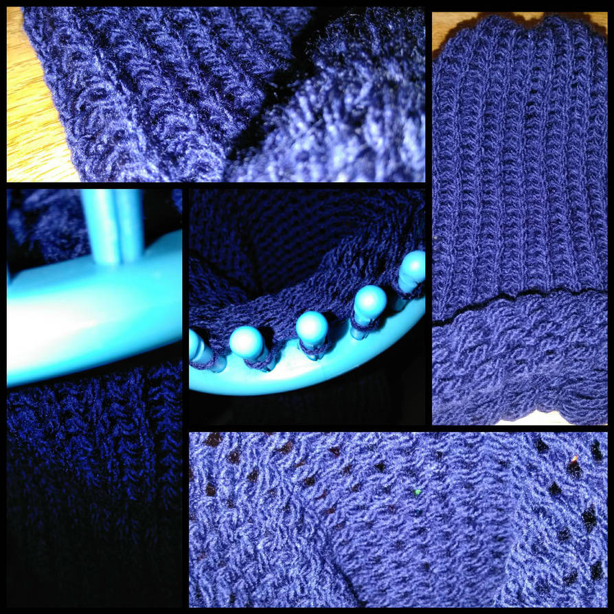 Knitted Hat by optimusartistry