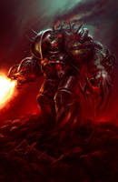 Iron Warrior Obliterator by MoonSkinned
