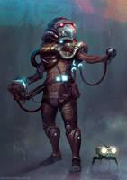Gravedigger: Grekkish Tek Savant by MoonSkinned