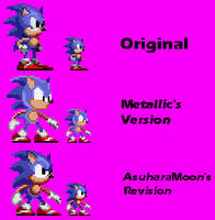 Sonic The Hedgehog Beta  - Stand Sprite Recreation by AsuharaMoon