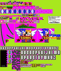 [Archive] Miscellaneous stuff - Sonic Nexus (2008) by AsuharaMoon