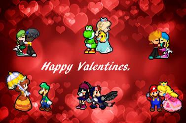 : . Valentine's Day 2/3 . : by YoloStarling84