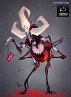 Queen of Boogedyville - Gnomon by cdavisart
