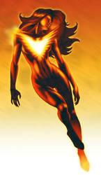 Jean Grey Phoenix illustration by WolfeHanson
