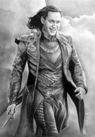 LOKI of Asgaard aka Tom Hiddleston, Avengers by Mim78