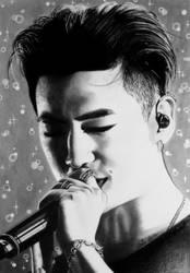 Yongguk of B.A.P, Kpop by Mim78