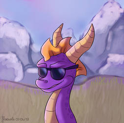 Spyro's back! by floravola