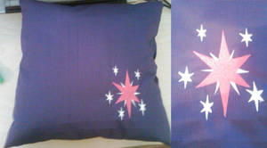 Twilight Sparkle Pillow by EthePony