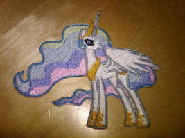 Celestia Embroidered by EthePony